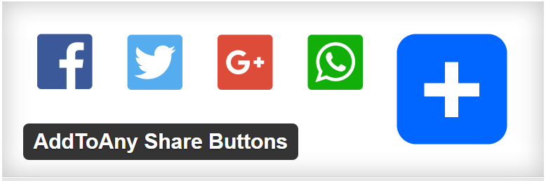 AddToAny Share Buttons — WordPress Plugins- social plugin wordpress
