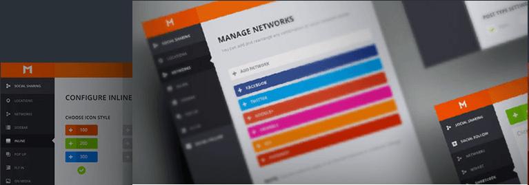 Monarch Social Sharing Plugin For WordPress - social plugin