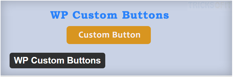 WP Custom Buttons — WordPress Plugins