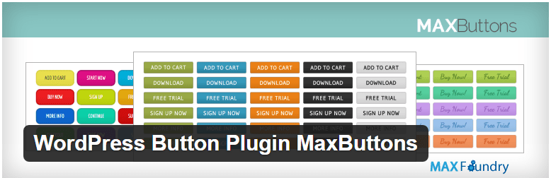 WordPress Button Plugin MaxButtons — WordPress Plugins - botões personalizados