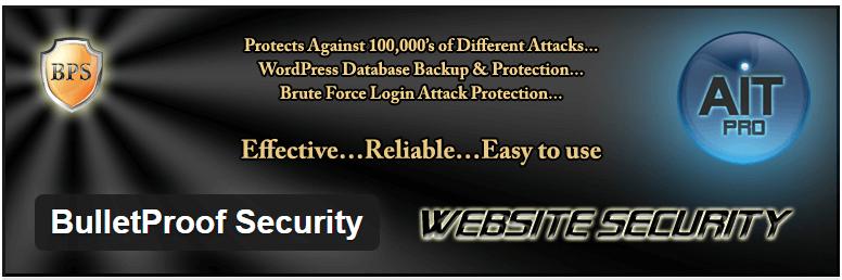 BulletProof Security — WordPress Plugins