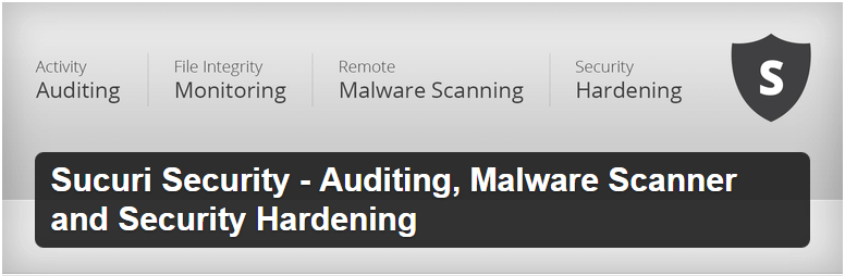 Sucuri Security Auditing Malware Scanner and Security Hardening — WordPress Plugins