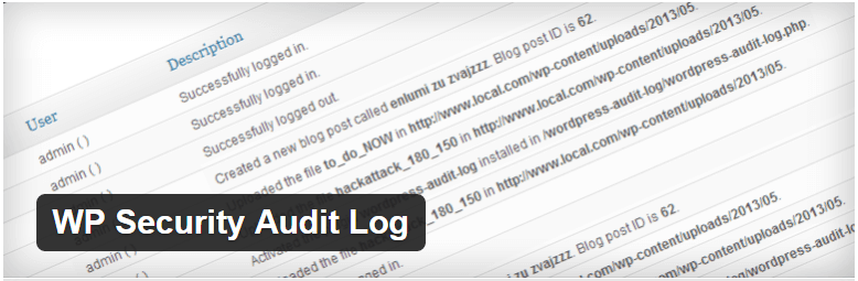 WP Security Audit Log — WordPress Plugins