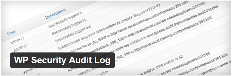 WP Security Audit Log — WordPress Plugins