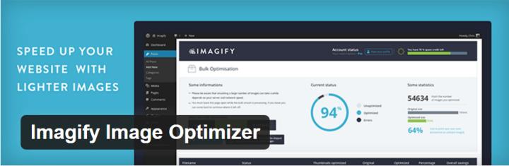 imagify - otimização de imagens