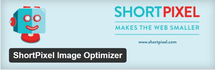 shortpixel - comprimir imagens