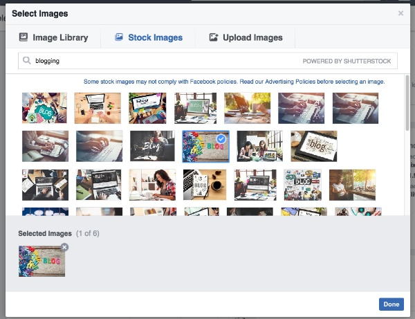 bussines facebook stockimage
