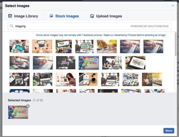 bussines facebook stockimage
