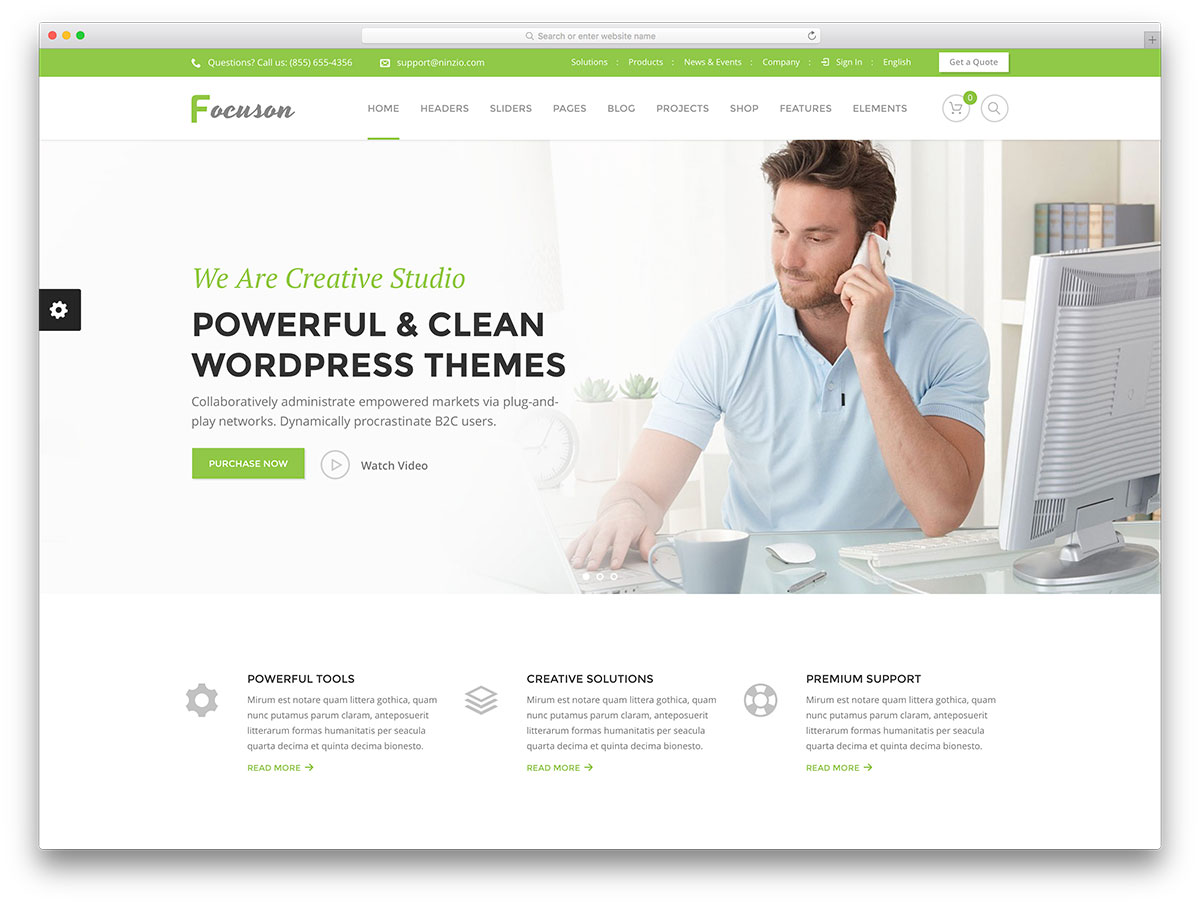 focuson-wordpress premium templates