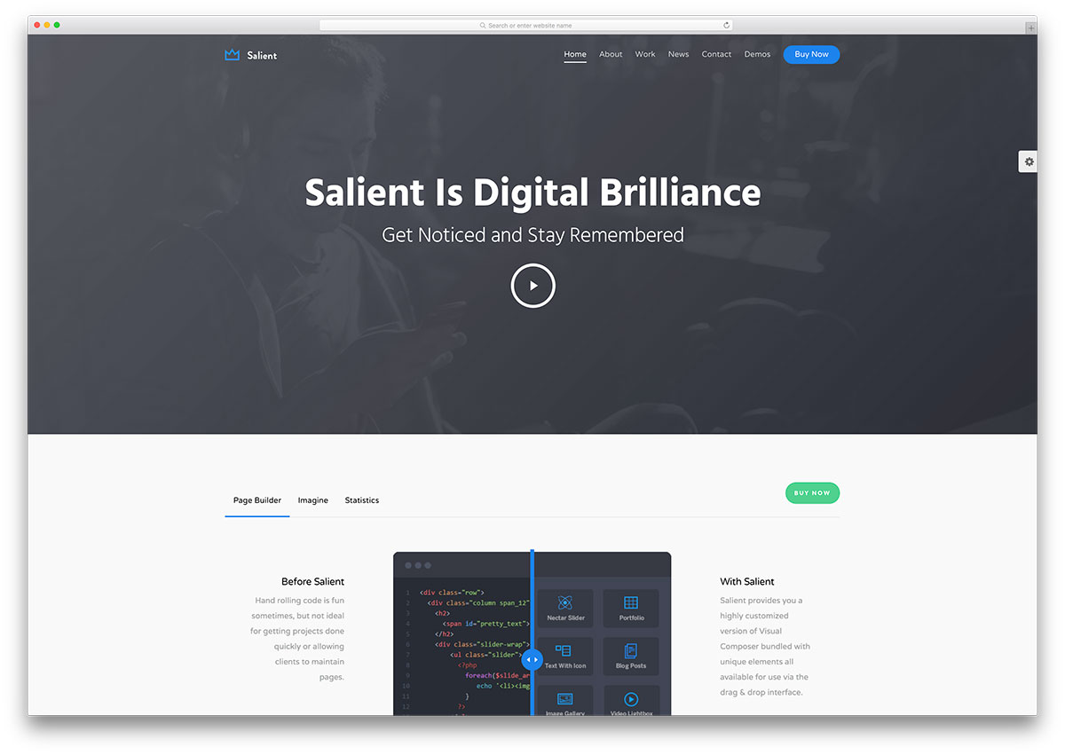 salient-tech-wp template