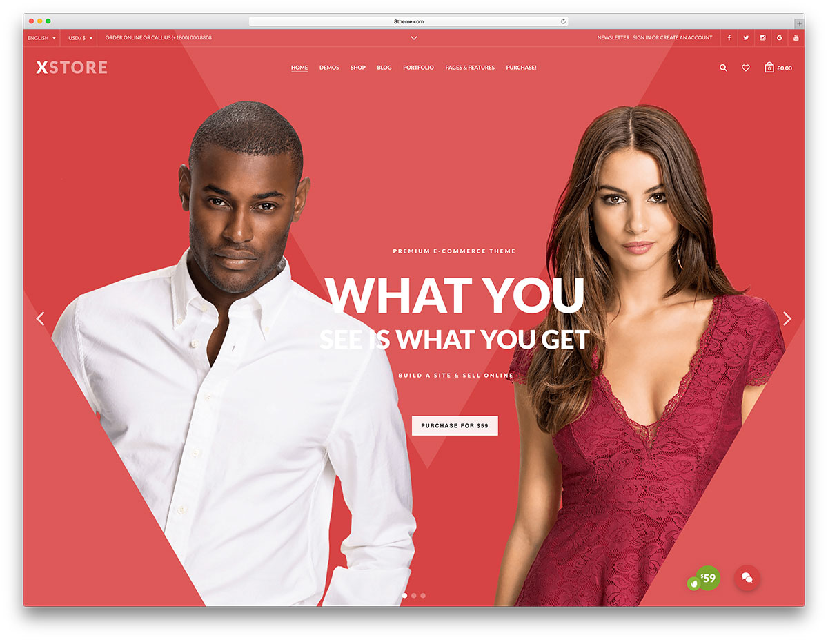 xstore-creative-wp themes