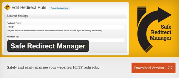 redirect plugin wordpress