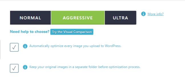 comprimir imagens wp
