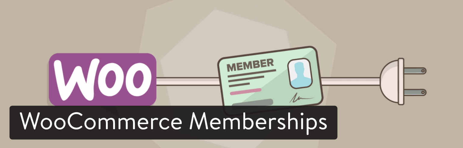 woocommerce memberships wordpress plugin de membro