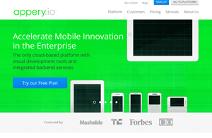 appery aplicativos para android e iphone