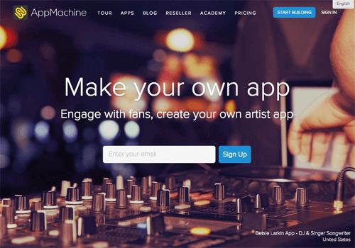 appmachine app de navegação