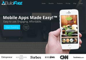 buildfire como criar um aplicativo gratis