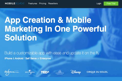mobileroadie como criar um app para celular