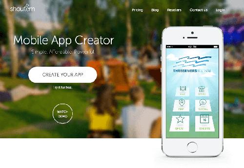 como criar app android