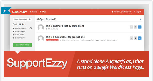 supportezzy ticket experience